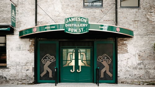 a75e348f5fe Visitor numbers to the Jameson Distillery Bow Street topped more than  350