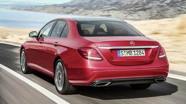 The new Mercedes E-Class is one of the cars affected by a global recall