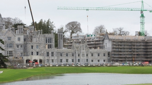 Construction work and a major refurbishment of the manor is under way