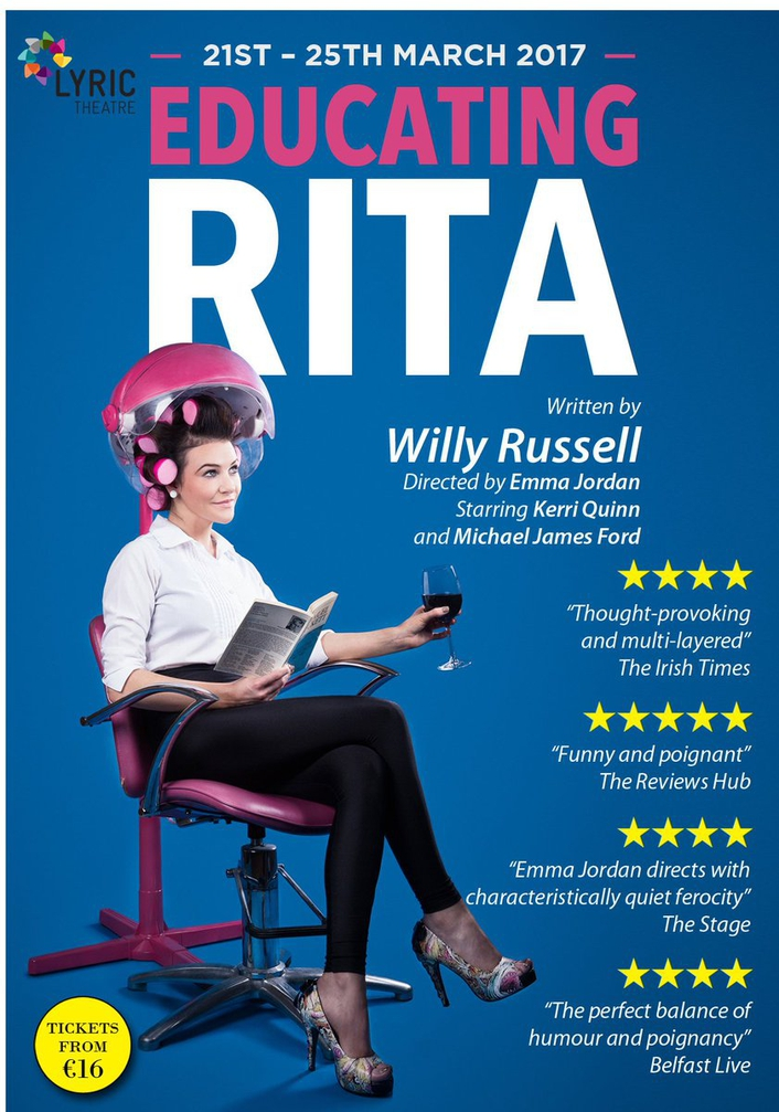 """Educating Rita"", directed by Emma Jordan"
