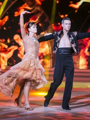 Week 8: Teresa danced her final steps in this impressive number. She sparkled to the end.