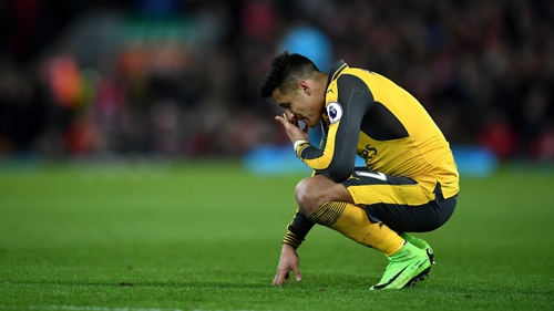 Alexis Sanchez was denied a transfer deadline day move by Arsenal