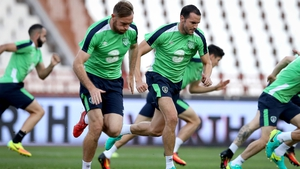 Richard Keogh and John O'Shea will be hoping to feature in Ireland's upcoming World Cup qualifier against Wales