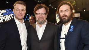 Manchester By The Sea producer Matt Damon, director Kenneth Lonergan and star Casey Affleck