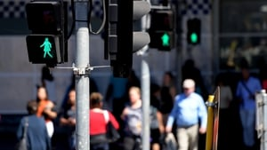 The lights were installed at one of Melbourne's busiest junctions