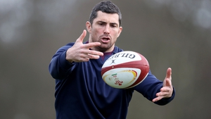 Rob Kearney is concluding rehab after bicep surgery