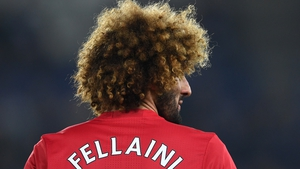 Fellaini joined United five years aga from Everton for £27.5m
