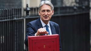 British Chancellor of the Exchequer Philip Hammond delivered his first Budget today