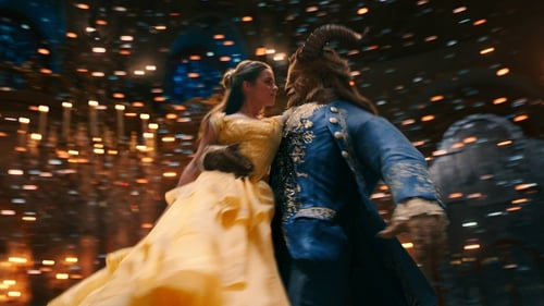 Emma Watson and Dan Stevens in Beauty and the Beast