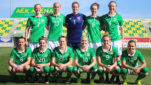 Ireland Women's National Team were beaten 2-0 by Korea DPR