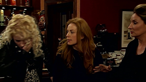 Niamh slapped Hayley in Wednesday's episode