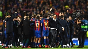 Luis Enrique: 'We need Camp Nou to bounce to experience another special evening.'