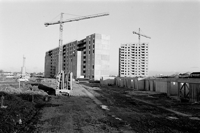 Ballymun flats under construction (1967)