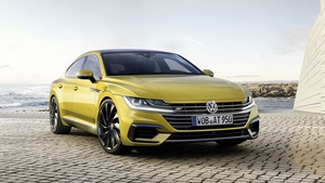 Volkswagen's new Arteon was one of the more interesting cars at the Geneva motor show.