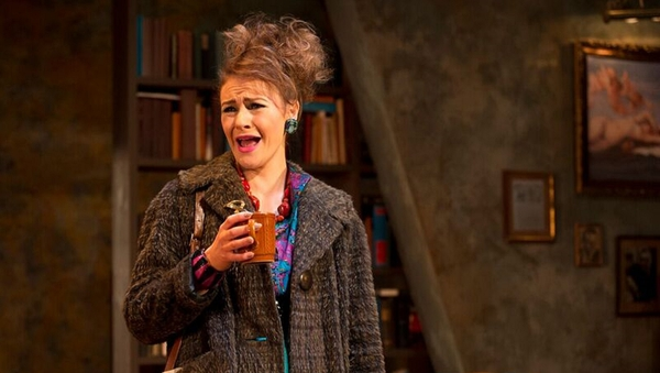 Kerri Quinn stars in the Lyric Theatre production of Educating Rita, currently on an Irish tour.