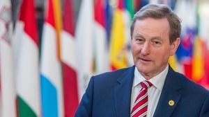 Enda Kenny has said that NI and Brexit are 'immediate priorities'