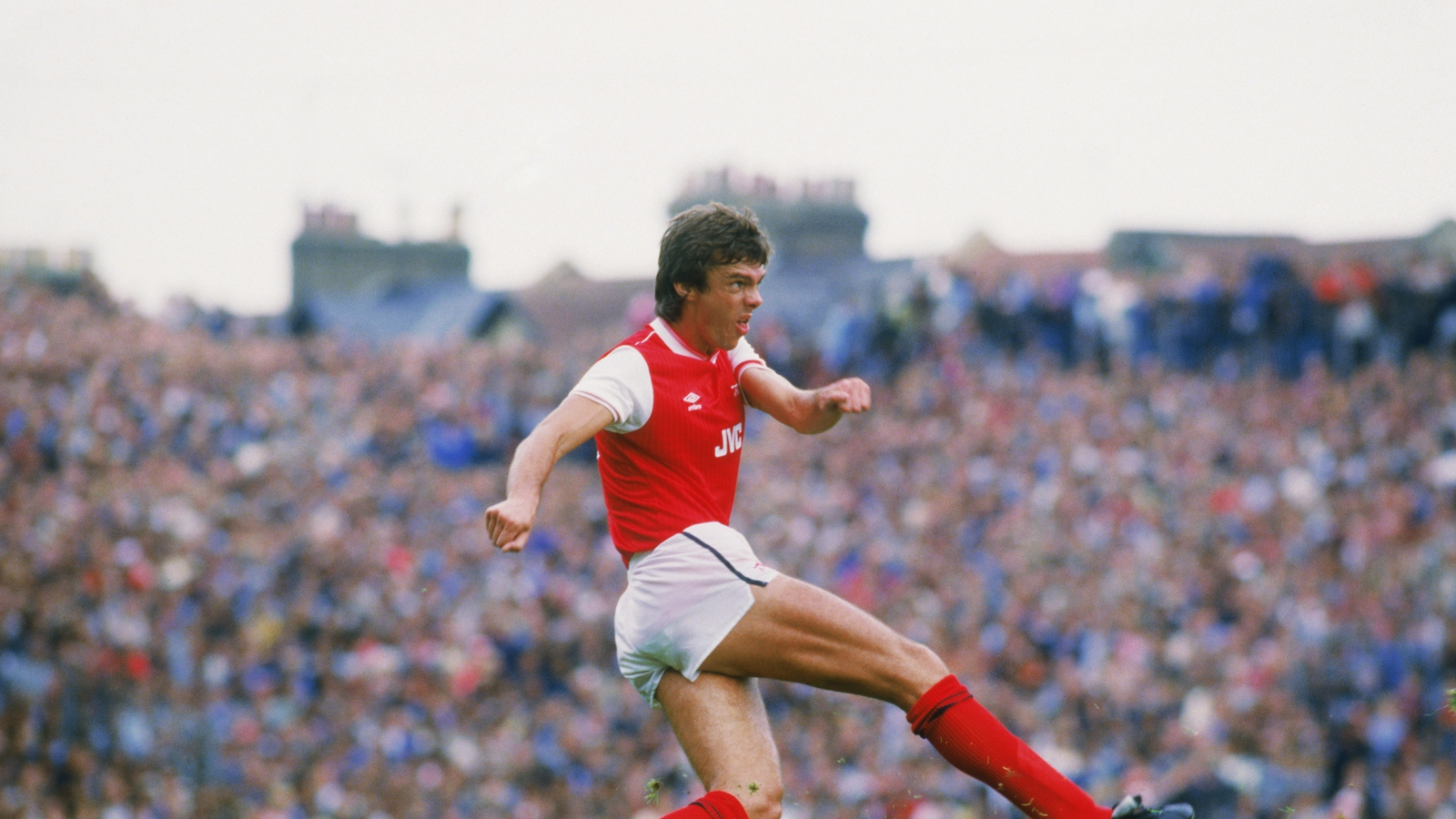 Image - David O'Leary with Arsenal