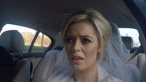 Bride Celina isn't impressed when she realises where she is going