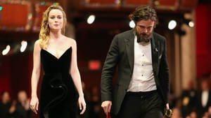 Brie Larson and Casey Affleck at the 89th Academy Awards