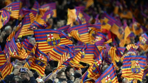 Barcelona fans went wild as their side completed a magnificent comeback