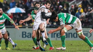 Jared Payne in action against Treviso