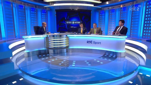 The RTE panel ahead of the clash with Wales