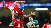 Action from last season's Six Nations clash between Wales and Ireland