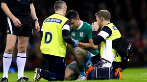Conor Murray suffered the injury on Ireland duty