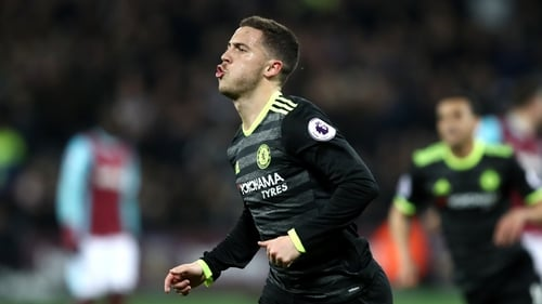 Hazard believes he is nearing his best form for Chelsea