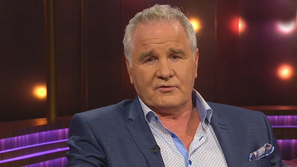 """Brent Pope (pictured in 2017) - """"When you're facing an illness - and a lot of people are - it's support and love that you crave"""""""