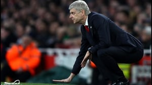 Arsene Wenger will look to ease some of the pressure on his position