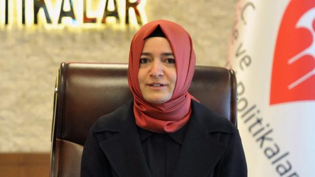 Turkish Family Minister Fatma Betul Sayan Kaya