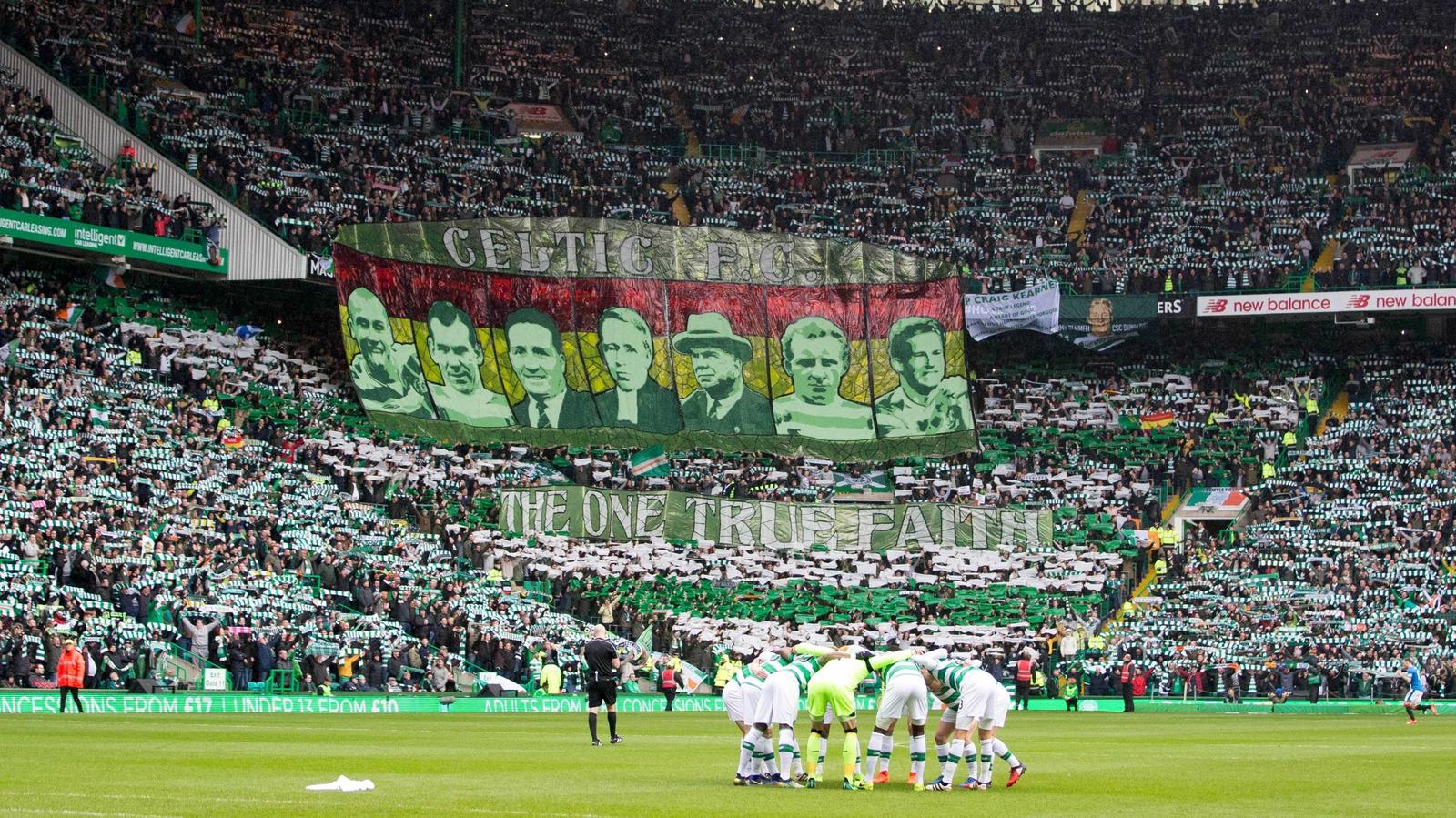 Celtic's winning run ended by Rangers