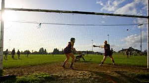 Tipperary's Nicole Walsh strikes a penalty to the net