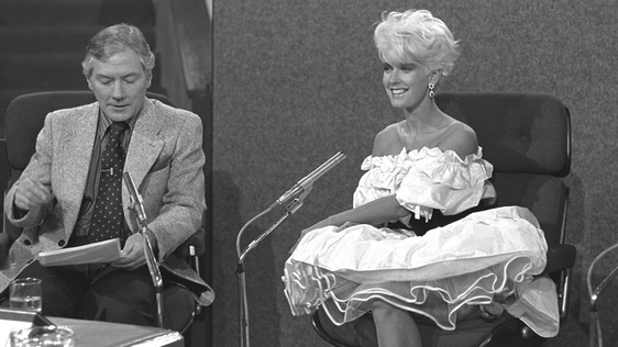 Paula Yates and Gay Byrne (1982)