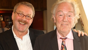 Ongoing Gate Theatre Artistic Director Michael Colgan (left) with frqequent collaborator Michael Gambon