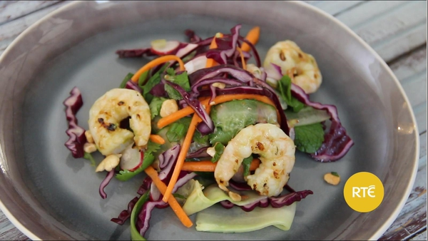 Dublin Cookery School's Vietnamese Prawn Salad