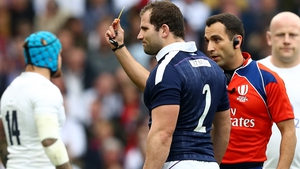 Fraser Brown is facing a ban for his dangerous tackle on Elliot Daly