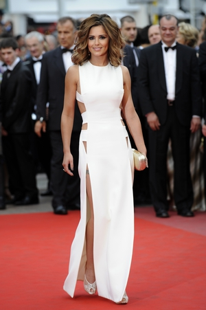 Hello Cheryl! The singer sizzles in Versace at the 2010 Cannes festival.