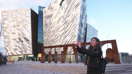 Random Acts as Gaeilge: Belfast Snapchat