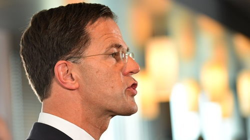 Dutch Prime Minister Mark Rutte: EU army idea 'too far'