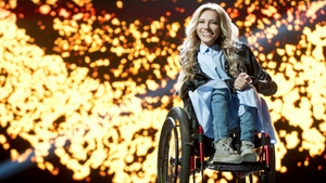 27-year-old Yulia Samoylova was chosen to represent Russia at this year's Eurovision