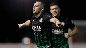Dylan Connolly celebrates his goal