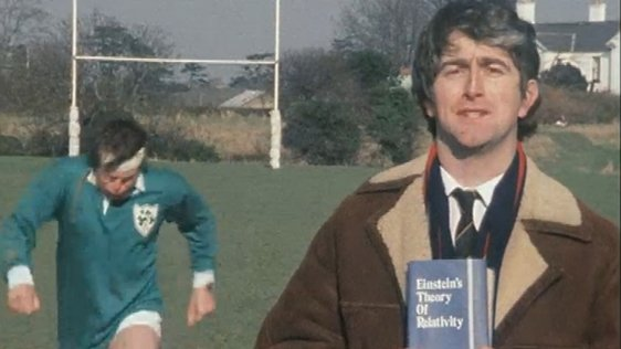 Fran Dempsey and Dermot Morgan.
