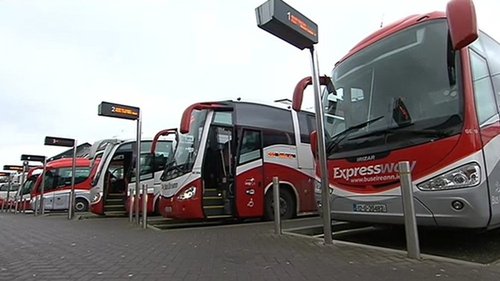 All Bus Éireann services, except school routes, are not operating