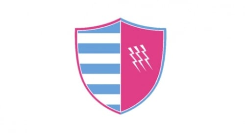 The new proposed crest for Stade Francais and Racing 92
