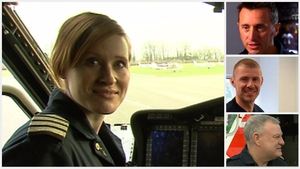 Capt Dara Fitzpatrick died in the crash - her colleagues Mark Duffy (Top), Ciarán Smith (C) and Paul Ormsby are still missing