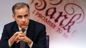 Bank of England Governor Mark Carney has said he does not believe leaving the EU was the biggest threat to UK financial stability