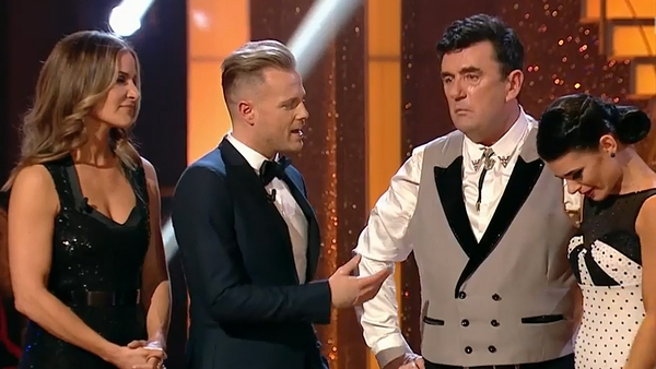 Des Cahill and Karen Byrne - Still a bit weepy about their Dancing with the Stars experience