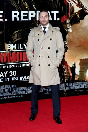 What is a British man without an iconic Burberry trench coat? The actor looks elegant at the 'Edge of Tomorrow' UK Premiere in 2014.